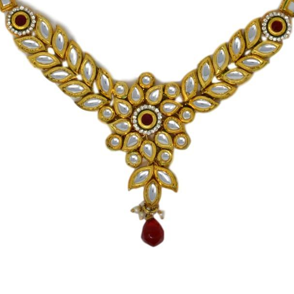 Kundan Necklace Closeup