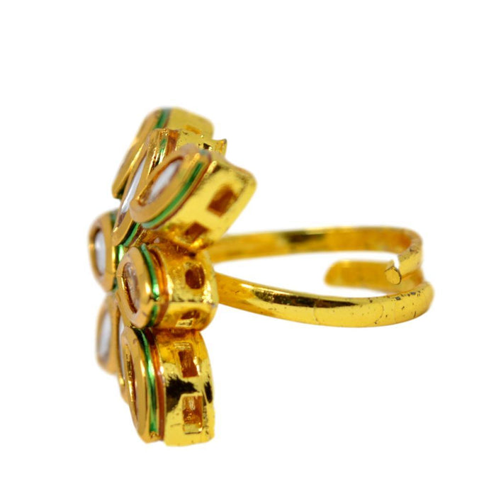 Kundan Ring Side