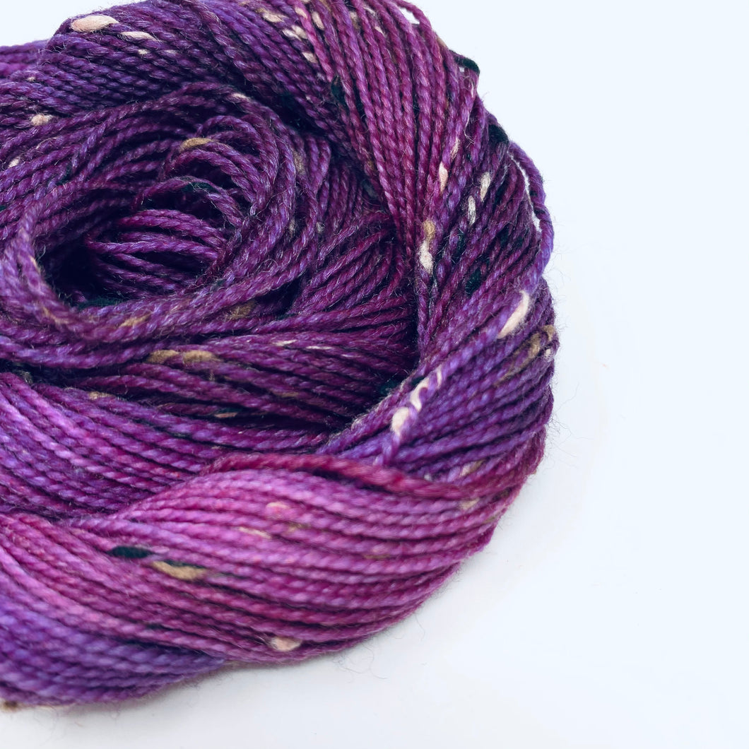 BLACKBERRY CRUMBLE - A Twisted Year's End Special Colorway