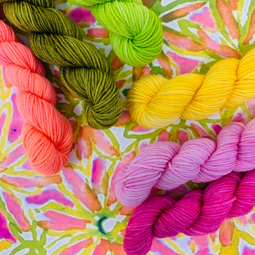 POP LEAVES Mini Skein Set