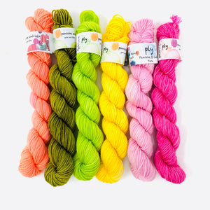 POP LEAVES Yarn Set