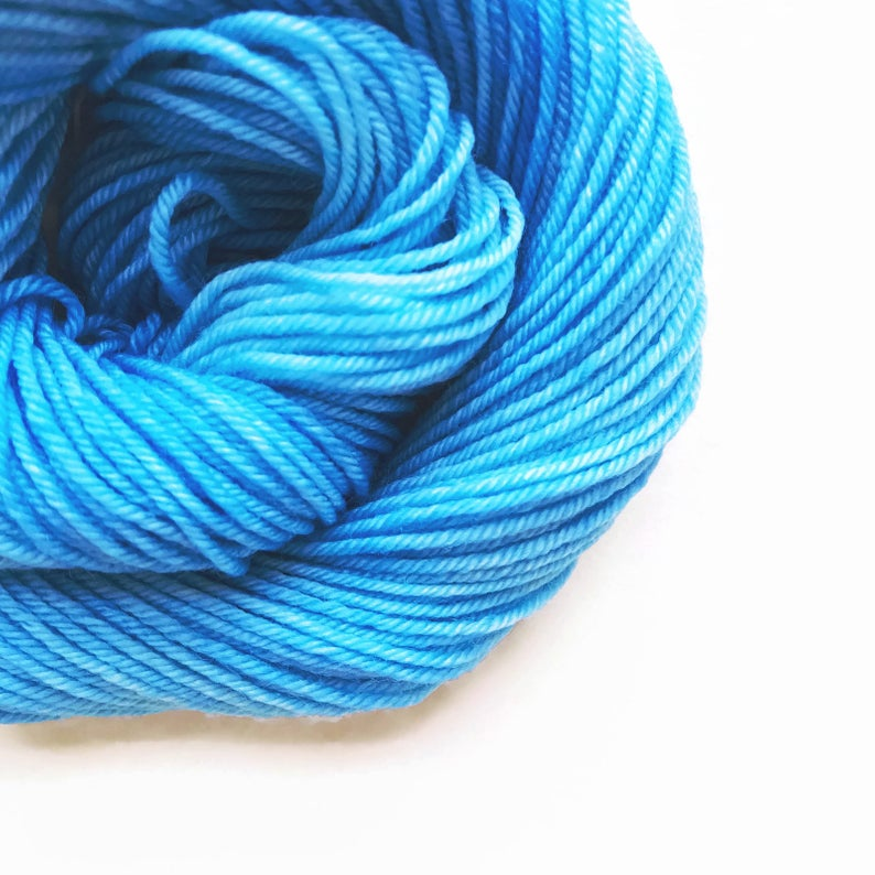 CERULEAN SKY Dyed to Order