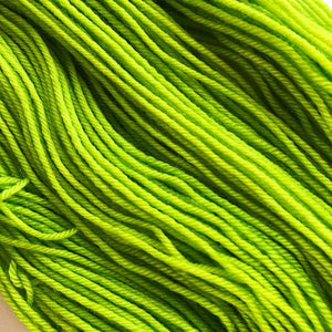 STITCH IN LIME Dyed to Order
