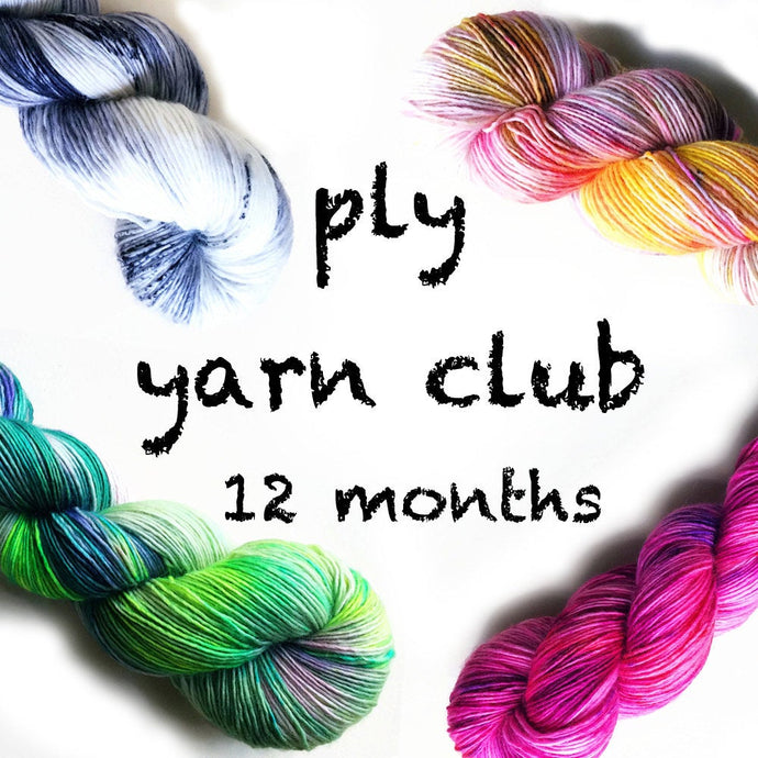 12 Months Pancake and Lulu Yarn Club Membership