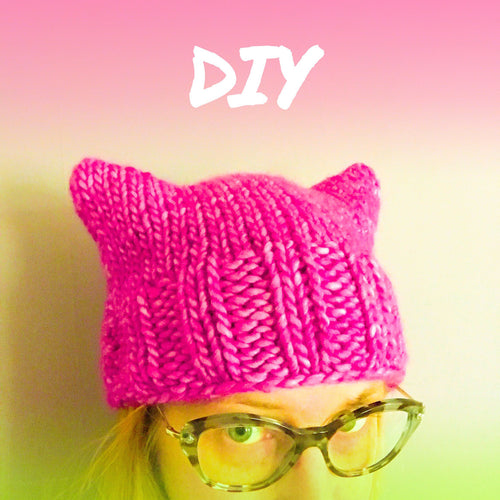 PUSSYHAT yarn kit & pattern