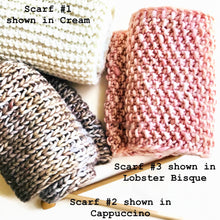 Load image into Gallery viewer, Scarf #1 Knitting Kit with Pattern