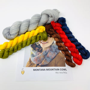 MONTANA MOUNTAIN COWL Yarn Kit