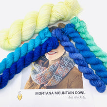 Load image into Gallery viewer, MONTANA MOUNTAIN COWL Yarn Kit
