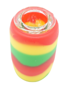 Rainbow Silicone Pipe 4""