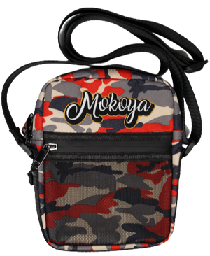 Crossbody Bag Red Camo