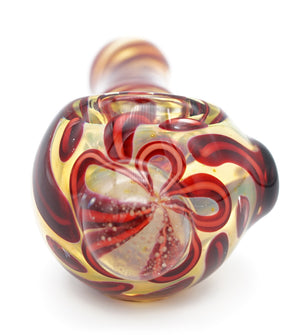 Red Vains Pipe 4""