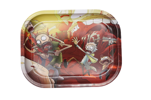Rick and Morty Running Tray