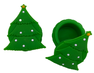 Christmas Tree Silicone Container