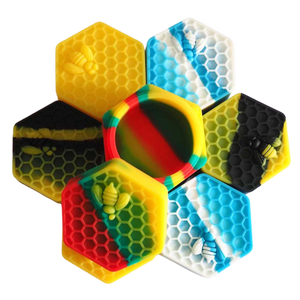 Honeycomb Silicone Dab Container