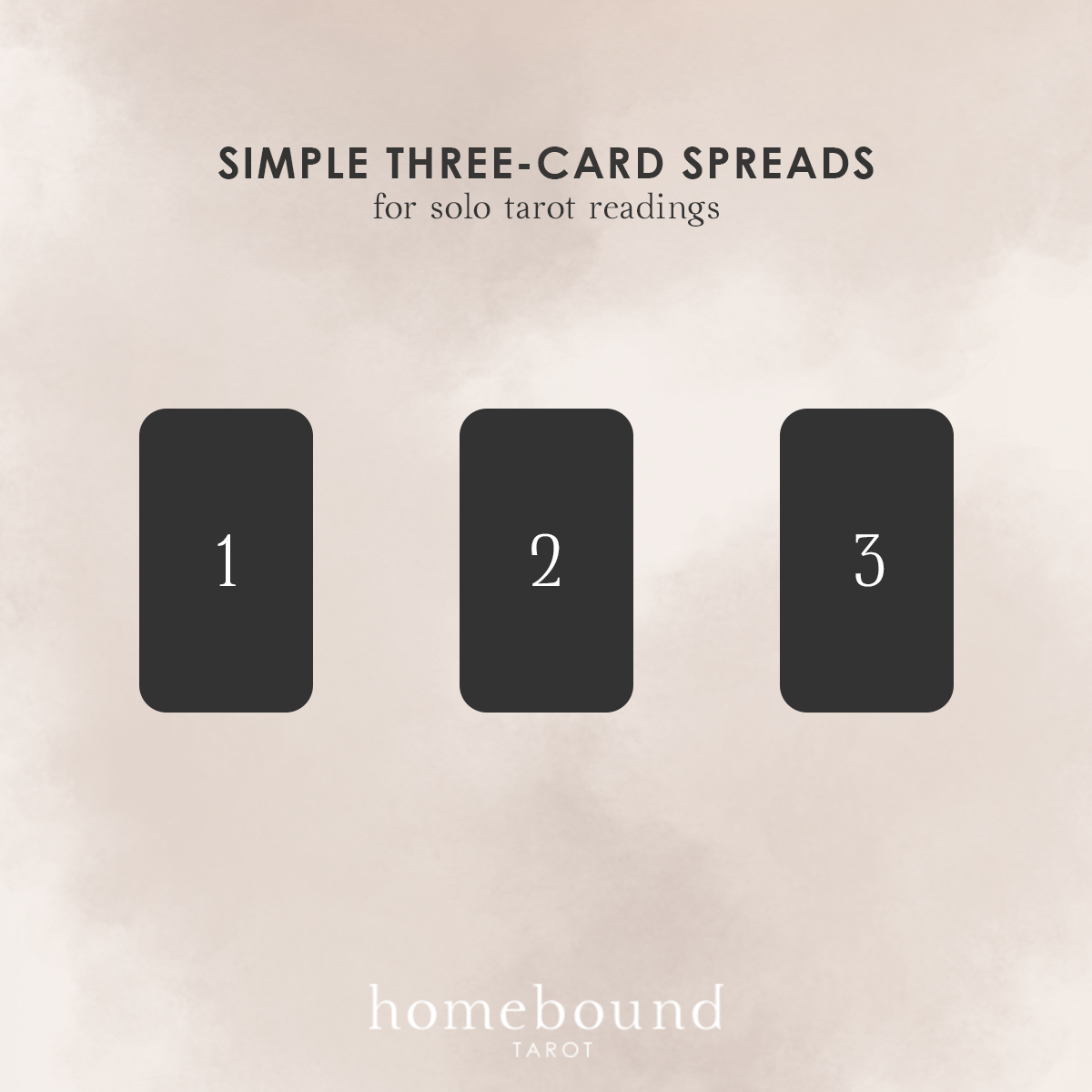 Simple Three-Card Spreads for Solo Tarot Readings