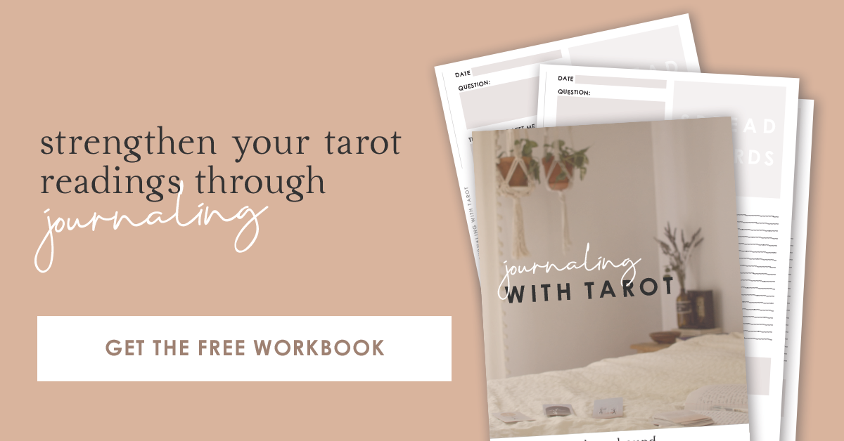 Journaling With Tarot Free Guide