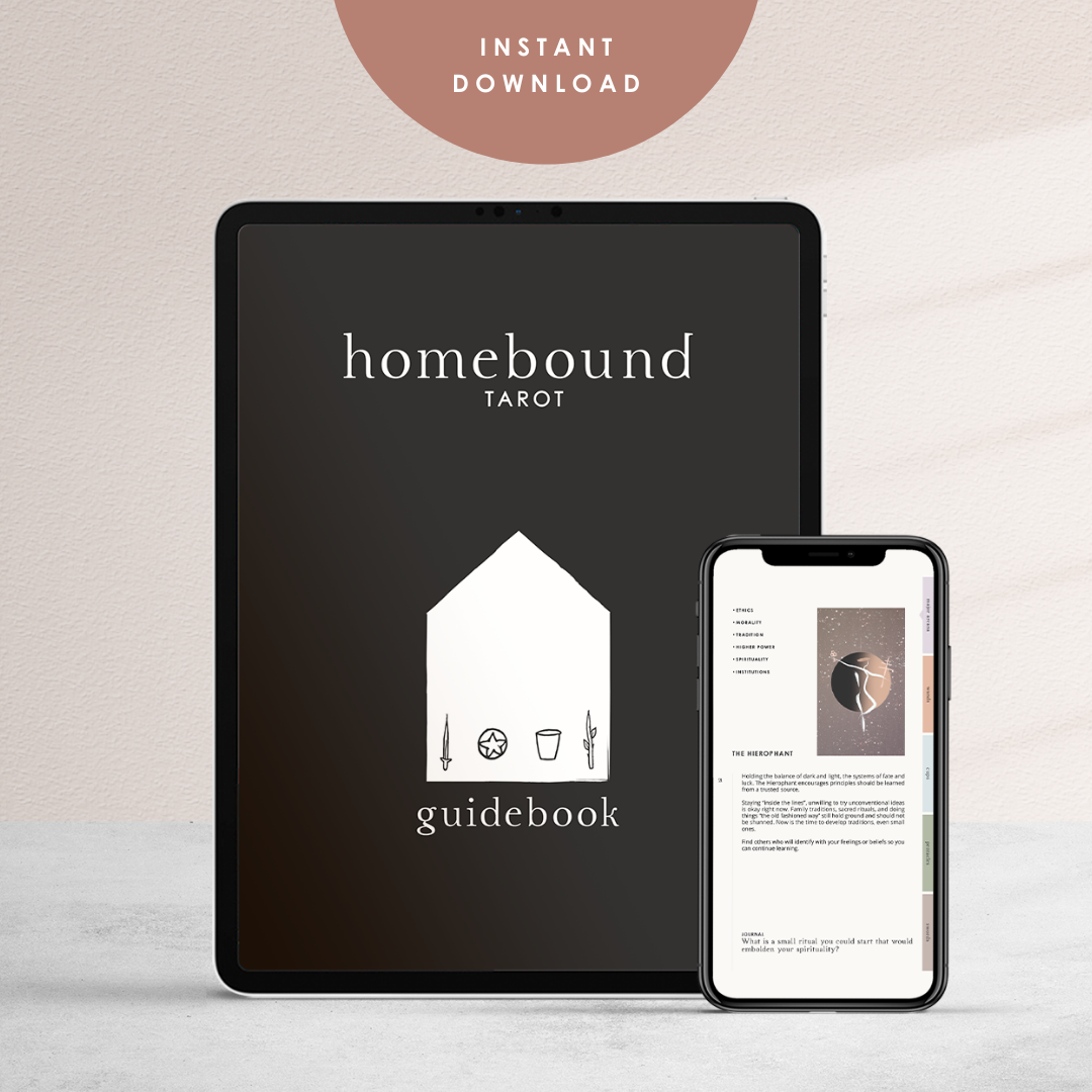 Homebound Tarot Digital Guidebook