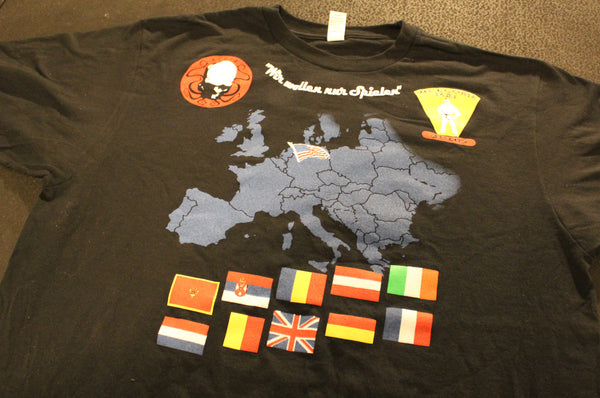 2013 Europe Summer Tour t-shirt