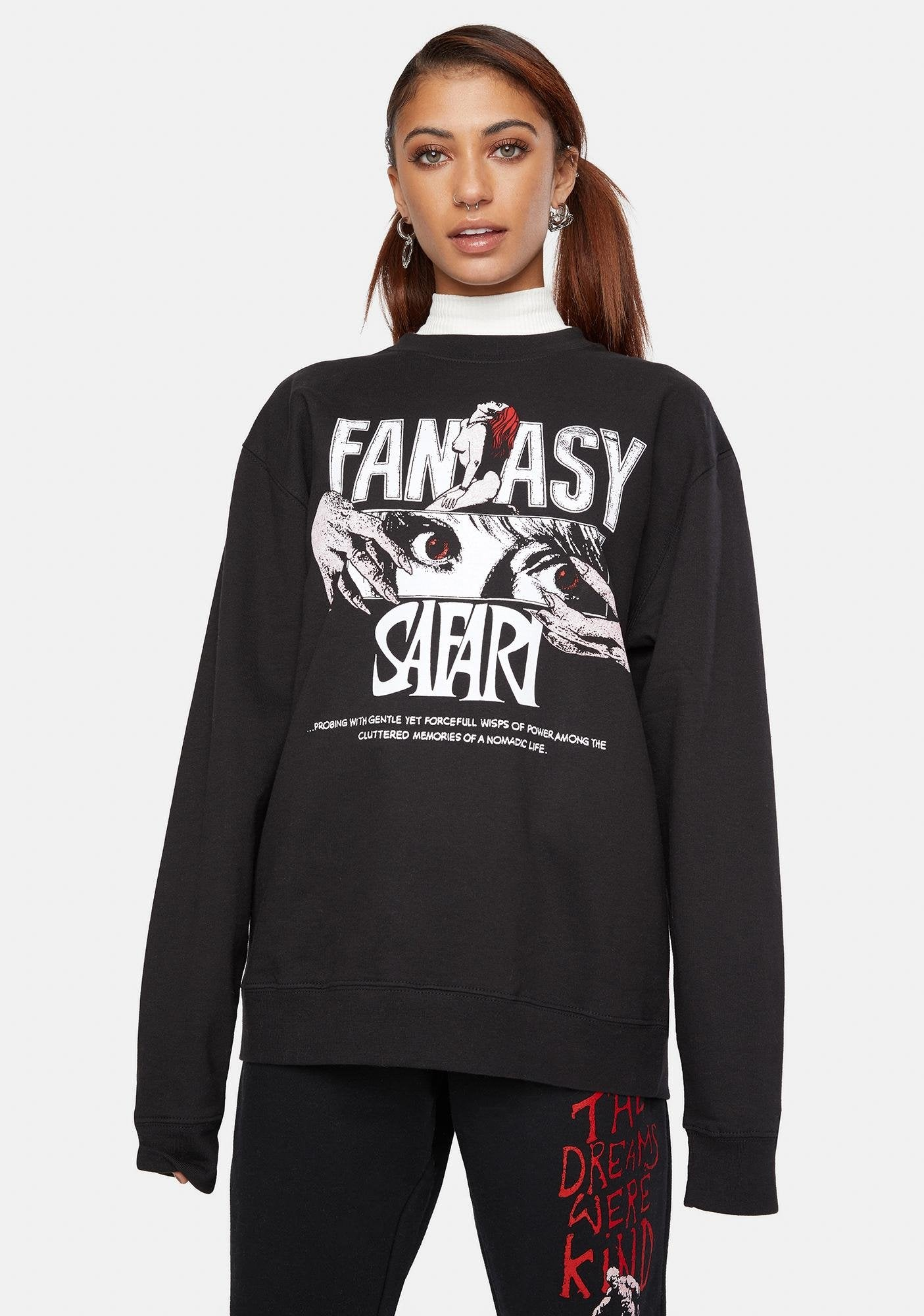 BOW3RY X PLAYDUDE FANTASY SAFARI CREW NECK