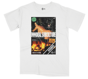 BOW3RY IMMORAL S/S T-SHIRT