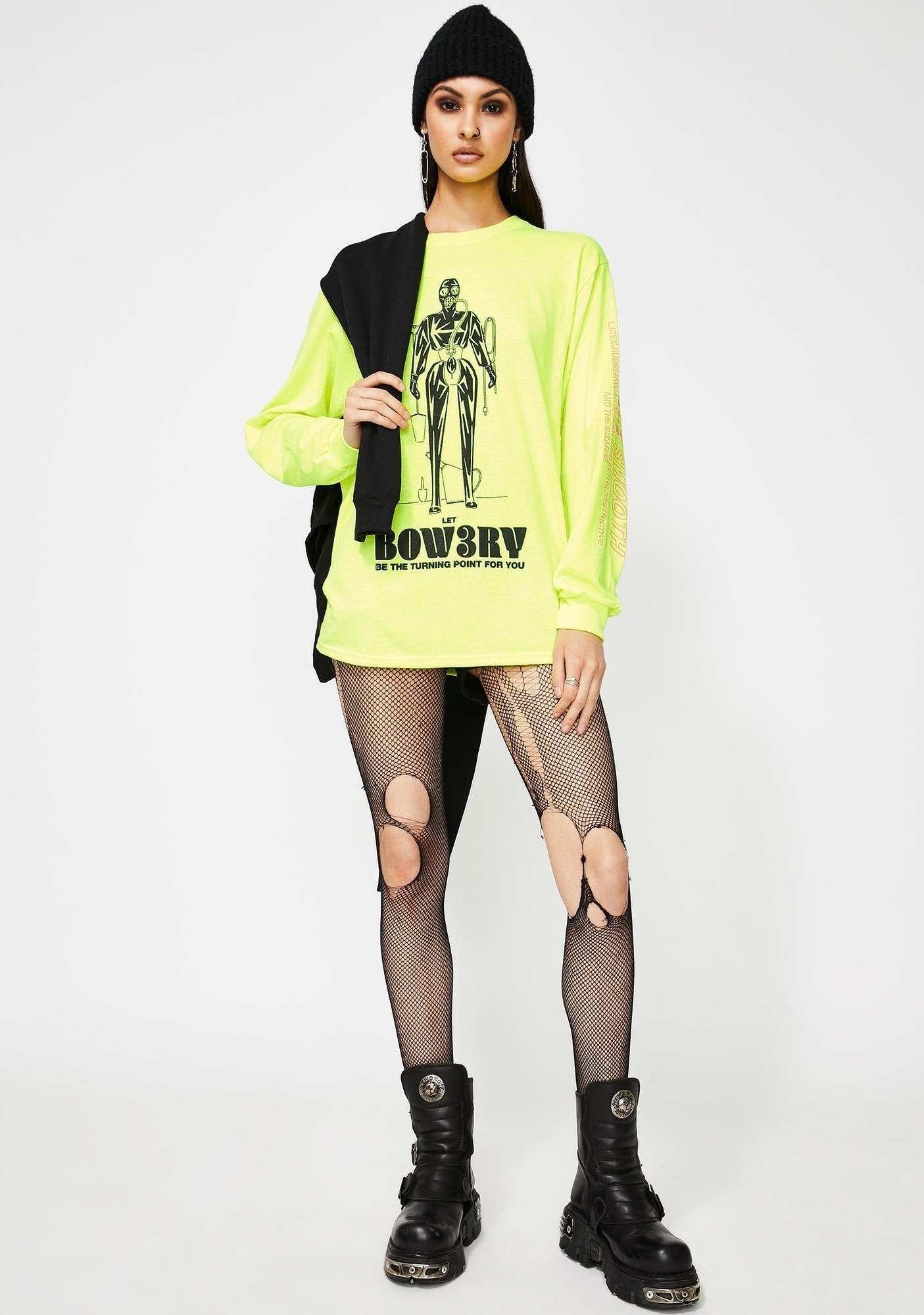 BOW3RY RAGE L/S T-SHIRT