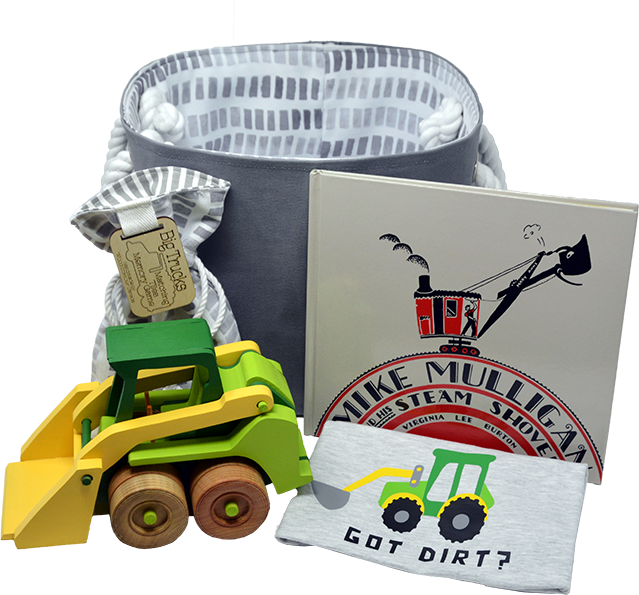 Construction Bucket Gift Set