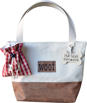 Pup Picnic Dog Tote in Cork