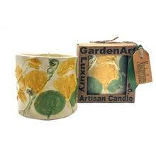 Load image into Gallery viewer, Nasturtium Yellow Luxury Candle