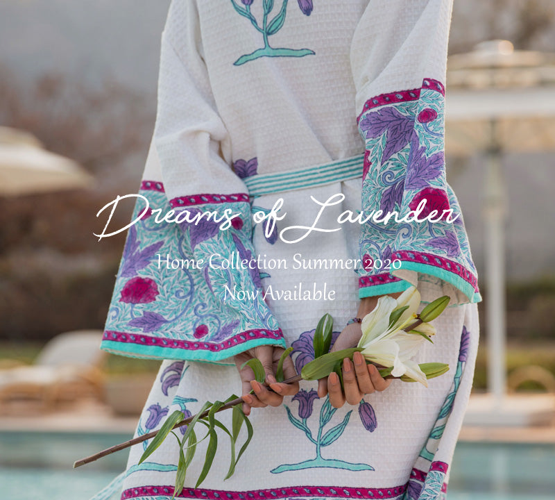 Dreams of Lavender Home Living Décor Signature Collection Summer 2020 - Pinklay