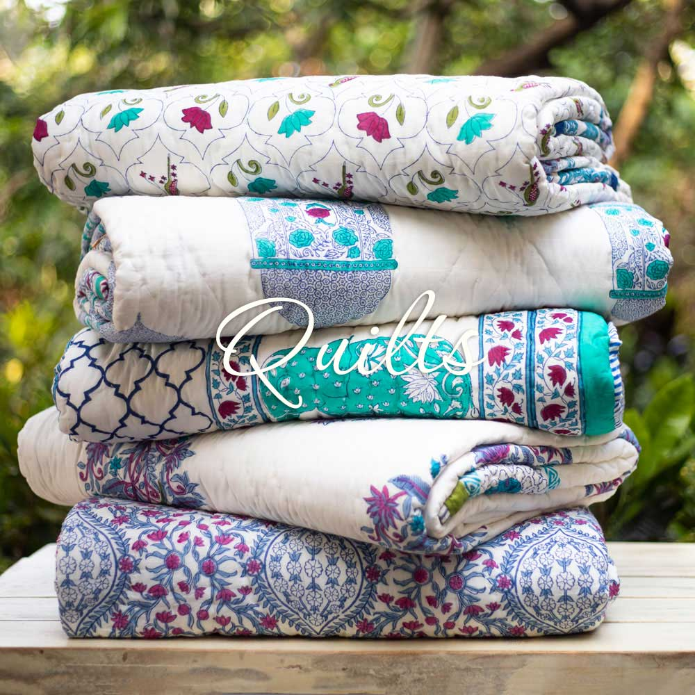 Premium Luxury Quilts Jaipuri Razais - Pinklay