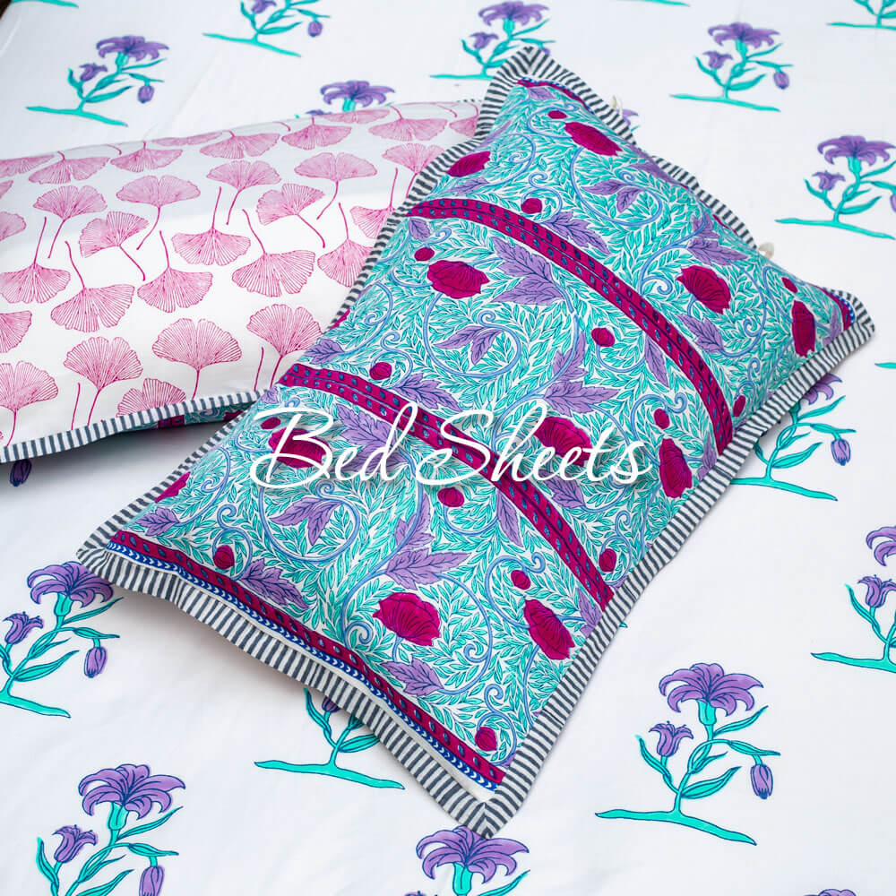 Cotton Bedsheet Single Double Queen King- Pinklay
