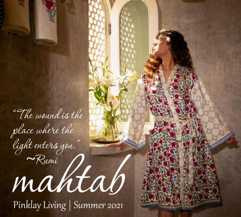 Mahtab Signature Home Bedding Collection - Pinklay