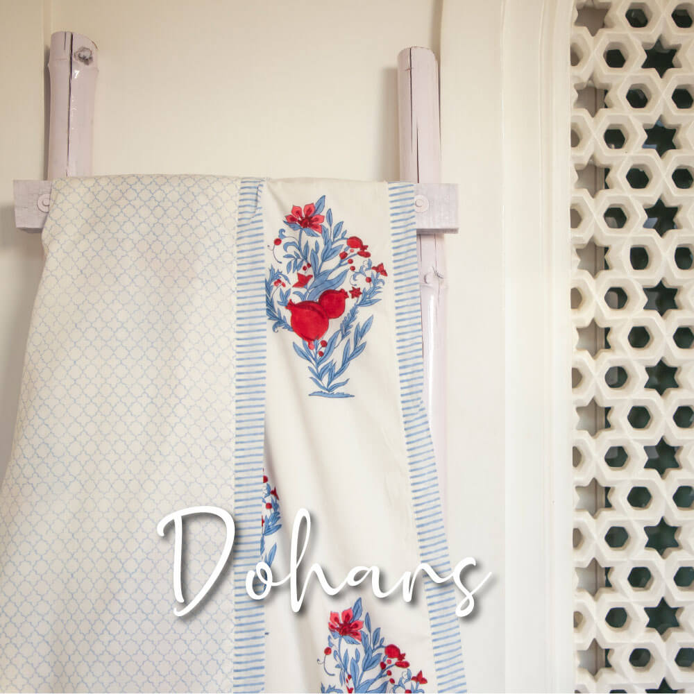 Dohar Cotton Muslin Summer Blanket - Pinklay