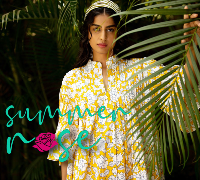 Summer Rose Women Cotton Clothing Collection - Pinklay
