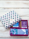 Face Towels & Soaps Gift Box Set - Pinklay