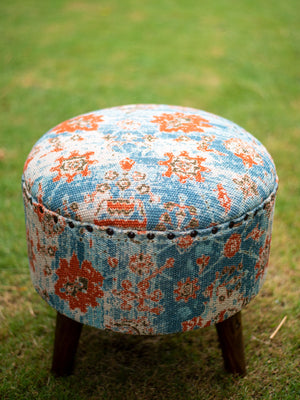 Autumn Dream Upholstered Ottoman