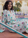 Lotus Jaal Hand Block Print Cotton Bath Robe