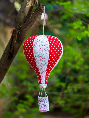 Charles' Hot Air Balloon Hanging Kids Decor - Pinklay
