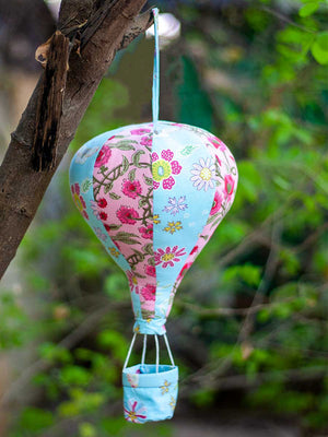 Ellie's Hot Air Balloon Hanging Kids Decor - Pinklay