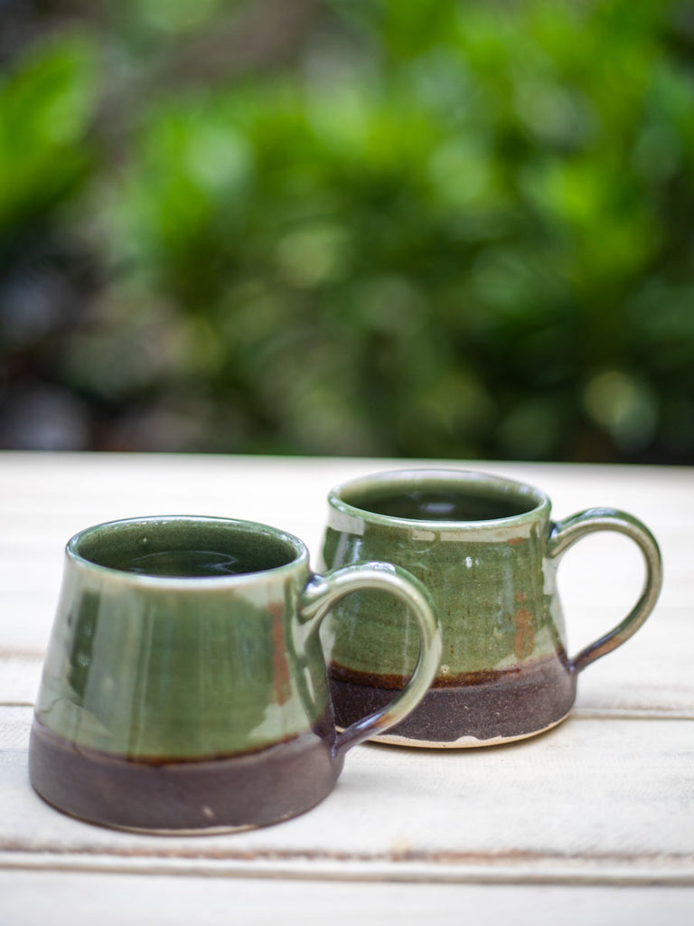 Emerald Coffee Mug - Set of 2 - Pinklay