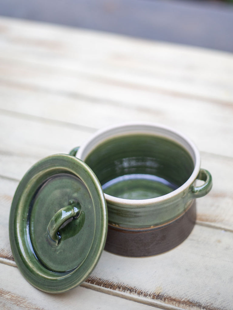 Emerald Stoneware Heat, Serve, Store Casserole - Pinklay