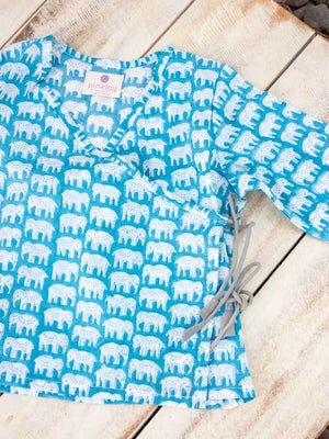 Haathi's March Organic Cotton Angrakha Kids Clothing