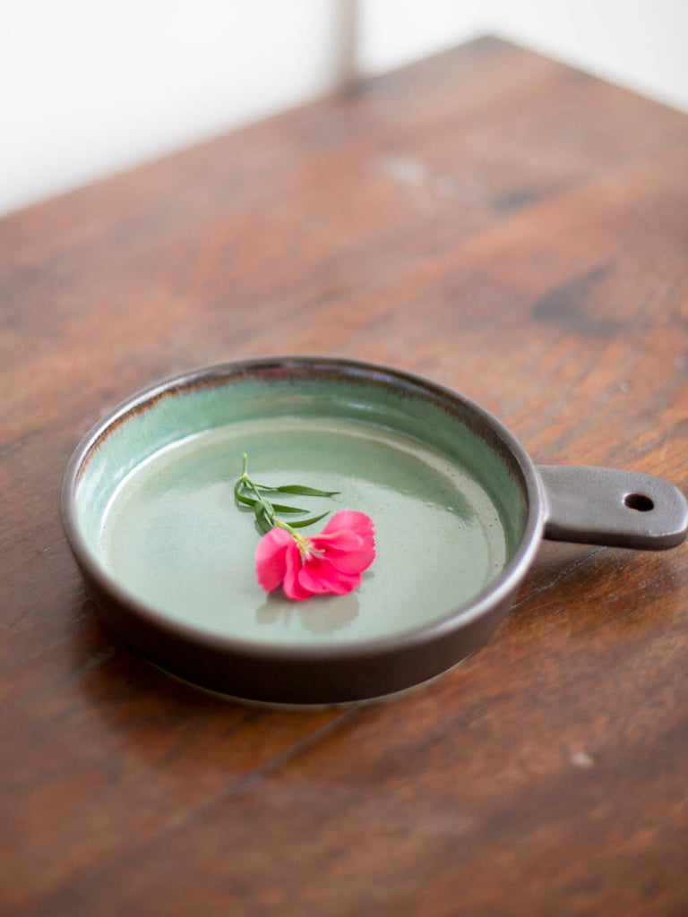 Emerald Mine Hand-Thrown Ceramic Tapas Platter – Pinklay