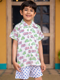 Vroom Vroom Organic Cotton Shirt - Pinklay