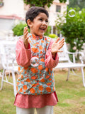 Nihaar Long Kurta Pajama Jacket Set of 3
