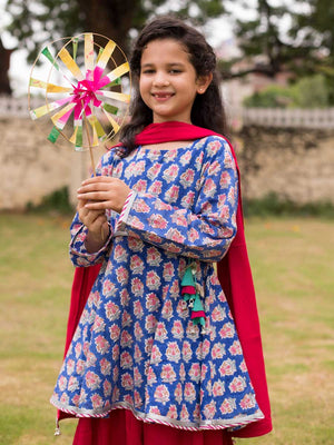 Gul Organic Cotton Sharara Dress Set of 3