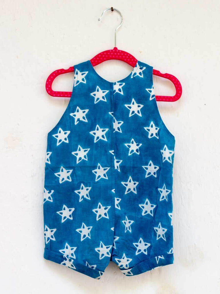 Midnight Star Organic Cotton Dungarees Kids Clothing