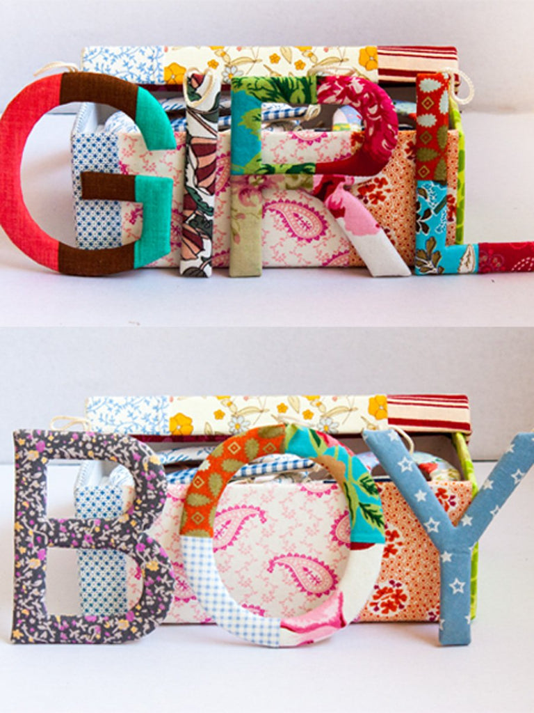Patchwork Alphabet Gift Set (All Alphabets) - Pinklay