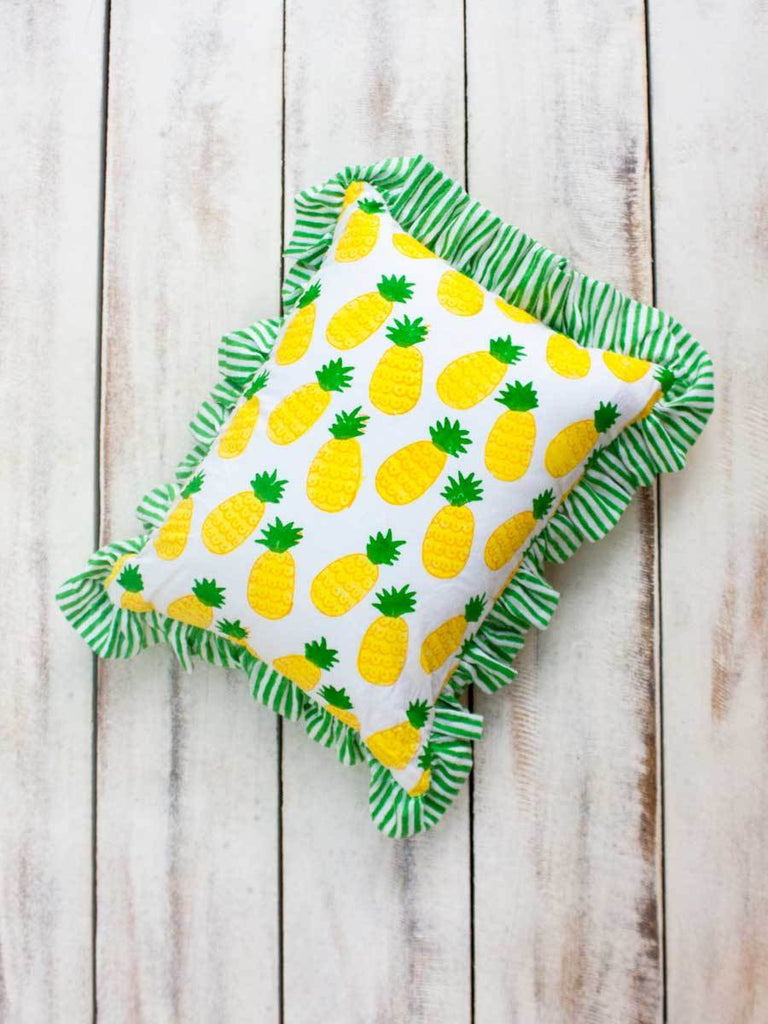 Ananas Organic Cotton Infant Pillow - Pinklay