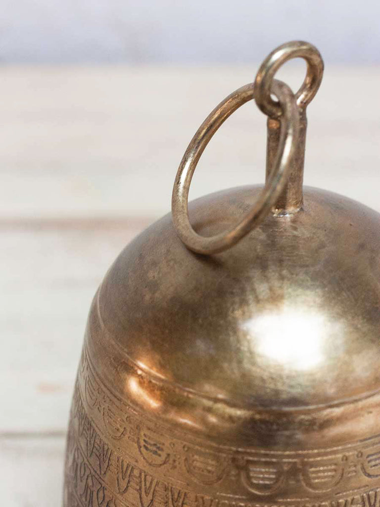 Sweet Song Brass Plated Metal Bell - Pinklay